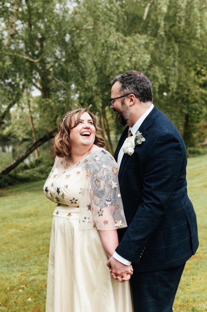 Fun and Spontaneous Wedding Portrait Photography Surrey