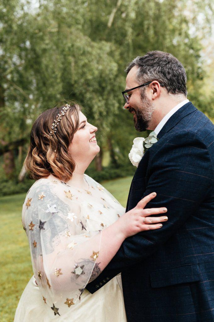 Intimate Wedding Portrait Photography Surrey