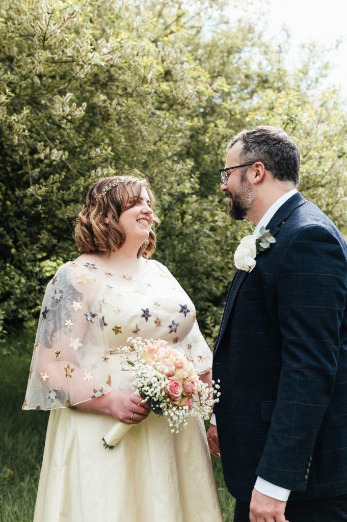 Outdoor Intimate Surrey Wedding Portrait Photography Surrey