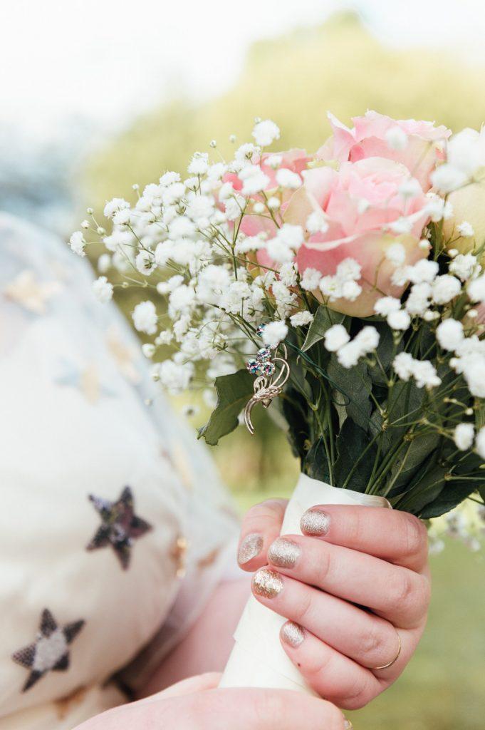 Wedding Flower Bouquet Details