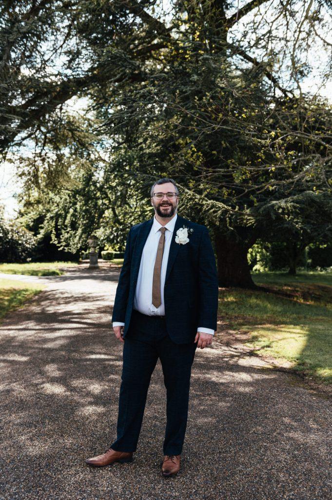 Groom Portrait Weybridge Wedding Photography