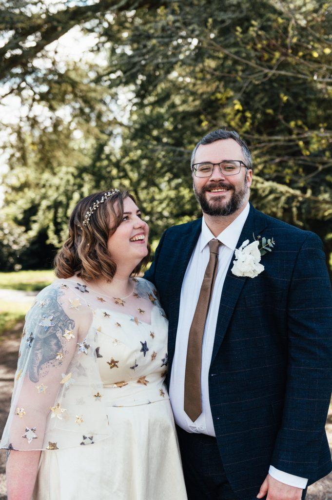 Cute Couples Wedding Portrait