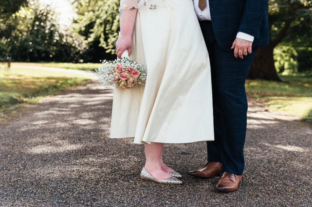 Artistic Wedding Outfit Details