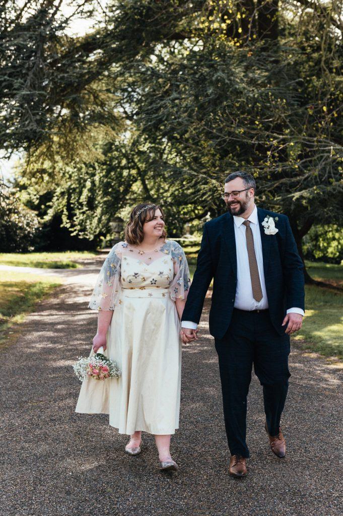 Relaxed Wedding Portraits Surrey