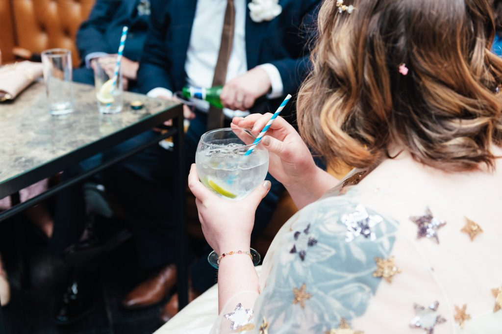 Gin and Tonic Wedding Drink