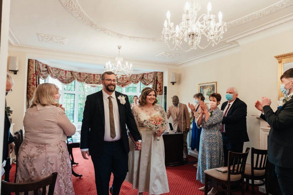 Intimate Weybridge Wedding Ceremony