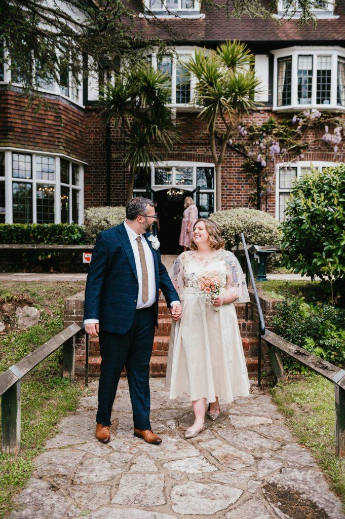Intimate Surrey Wedding Weybridge