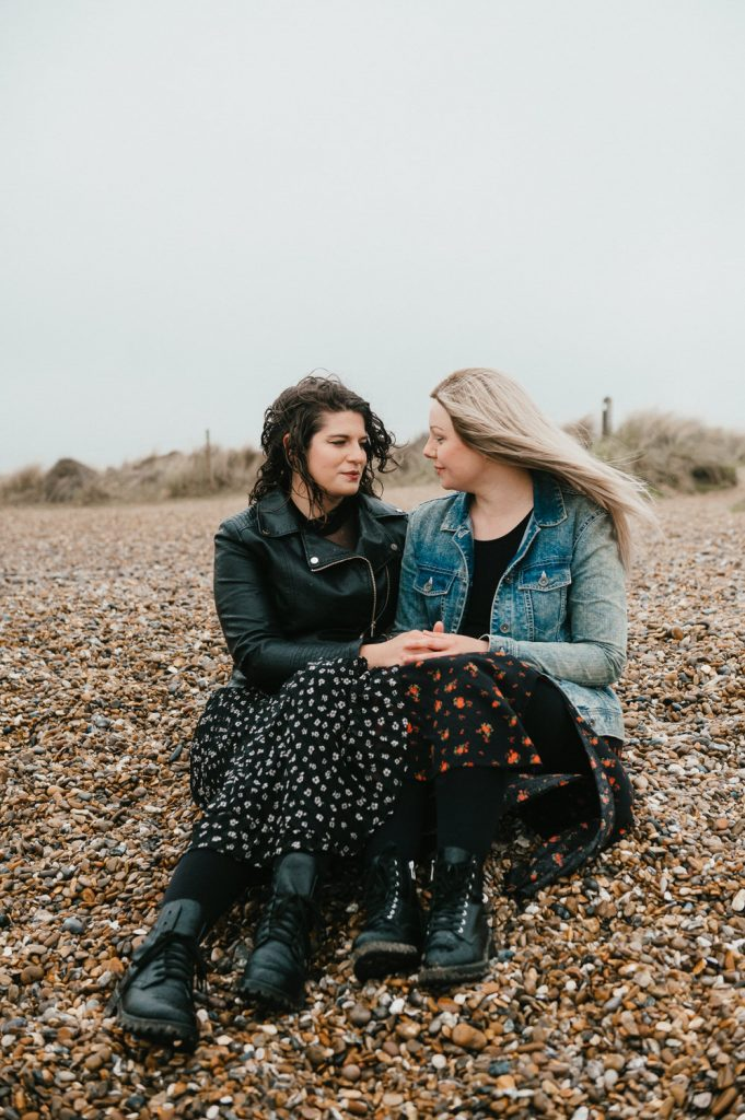 Intimate Candid LGBT Engagement Photography