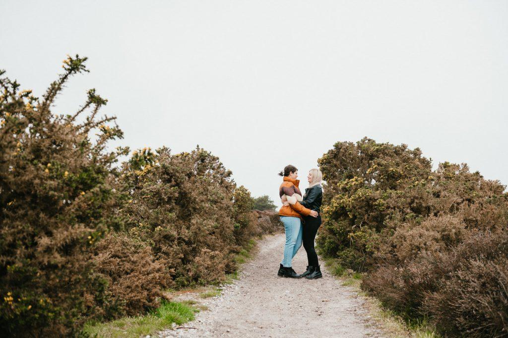 Couples Portrait Dunwich Heath