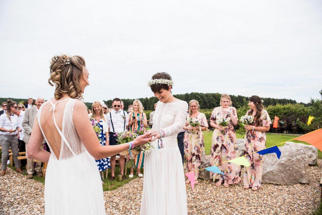 LGBT Wedding Photography, Festival Wedding