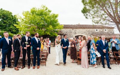 Why You Should Risk an Outdoor Ceremony