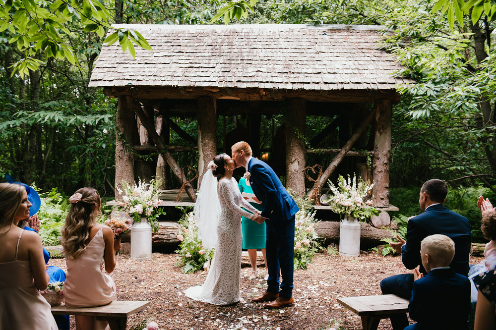 Woodland Wedding Surrey